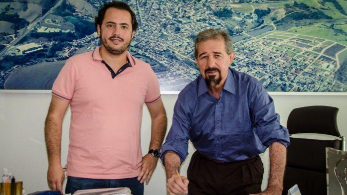 Prefeito Maurício e Toninho Miguel