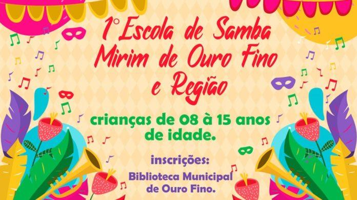 1ª Escola de Samba Mirim de Ouro Fino e Região