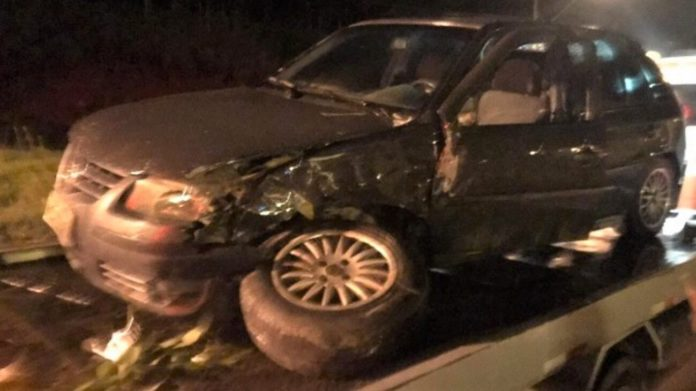 Veículo envolvido no acidente