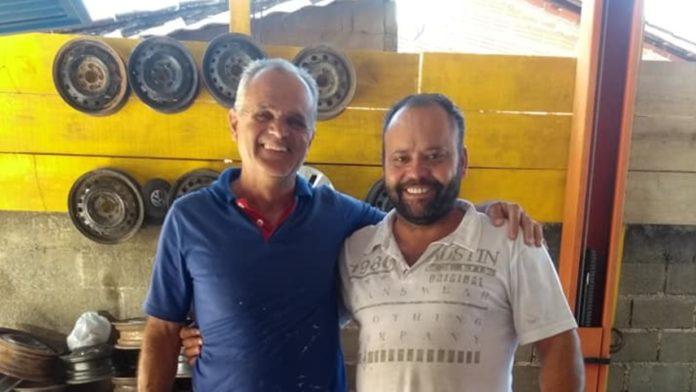 Anézio Júnior e Daniel Borracheiro