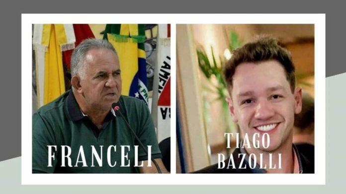 Antônio Franceli e Tiago Bazolli