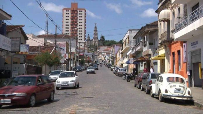 Rua Prefeito José Serra em Ouro Fino
