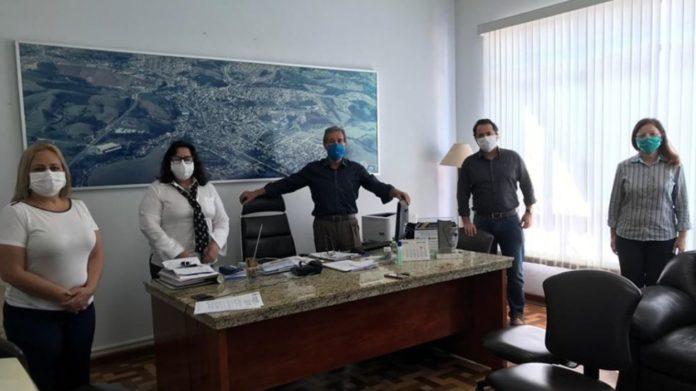 42 mil máscaras serão entregues em Ouro Fino