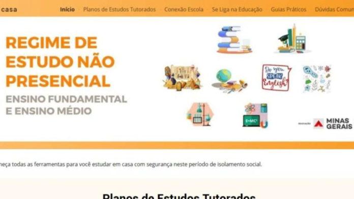 Site aulas online