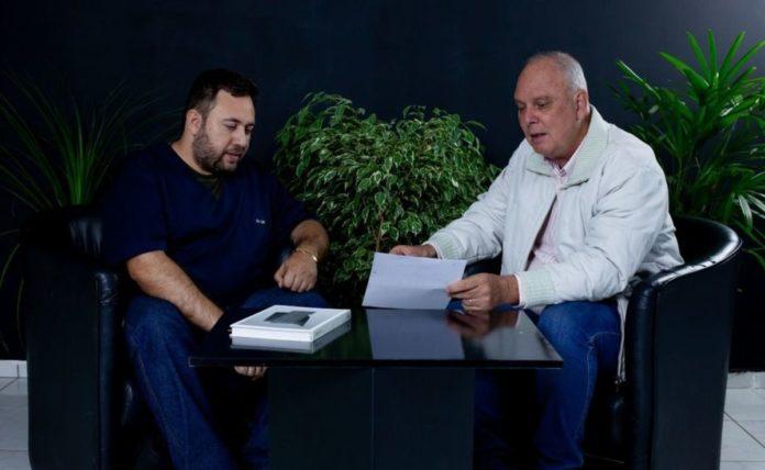 João Giordani e Henrique Wolf