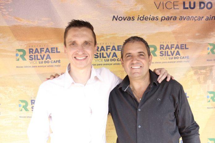 Rafael Silva e Lu do Café