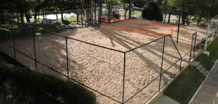 Quadra de areia