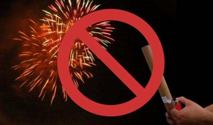 Fogos de artifício não